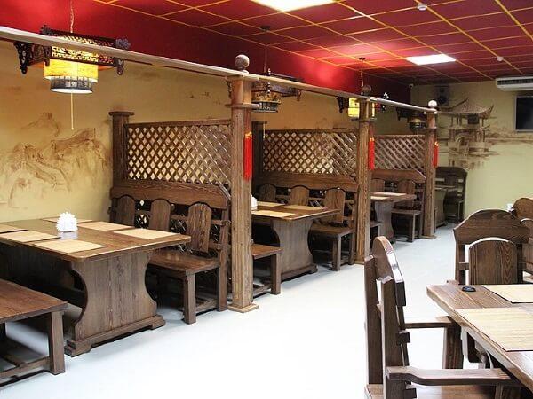 Мебель для кафе в стиле кантри на заказ