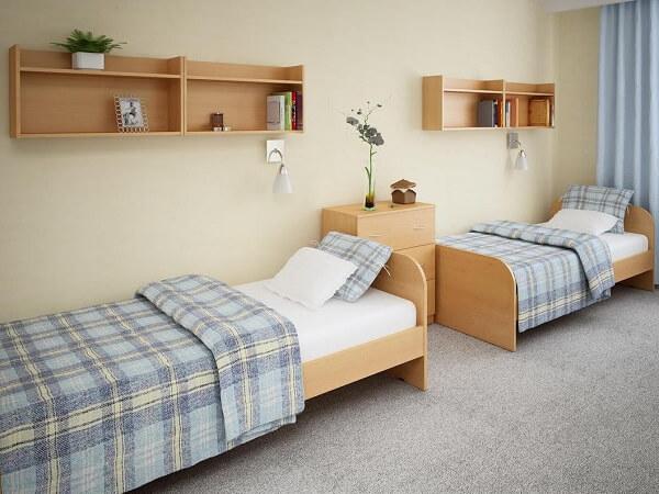 Простой мебельный комплект для гостиниц на заказ